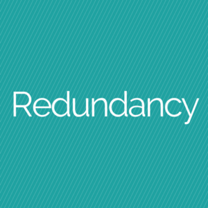 facing redundancy
