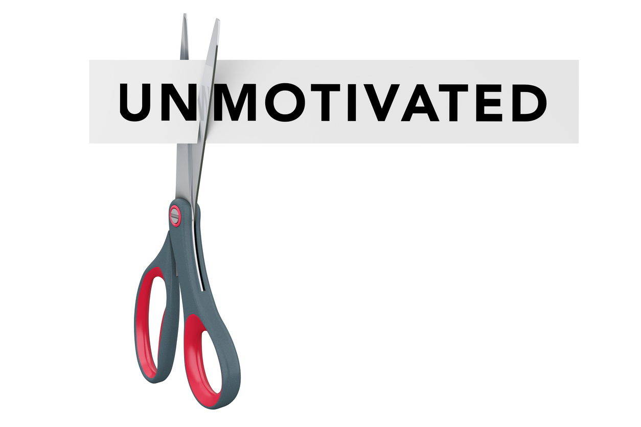 When you feel unmotivated